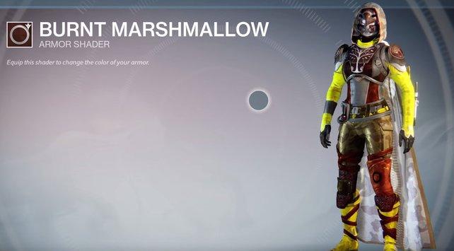 Burnt Marshmallow: Viele Farben und ein gängiges Tarnmuster vereint.