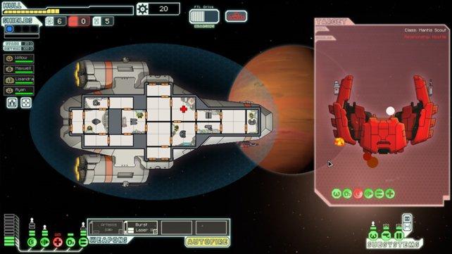 Jeder Sieg über ein feindliches Schiff bringt euch eurem Ziel ein Stück näher.