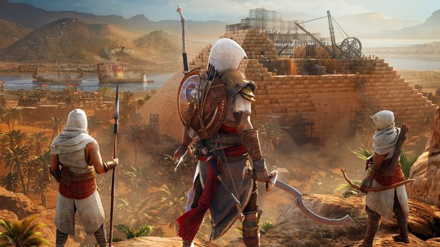 Auch Assassin's Creed: Origins gibt es für kurze Zeit deutlich günstiger.