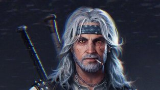 Wenn Geralt ein Punk in den 80ern wäre