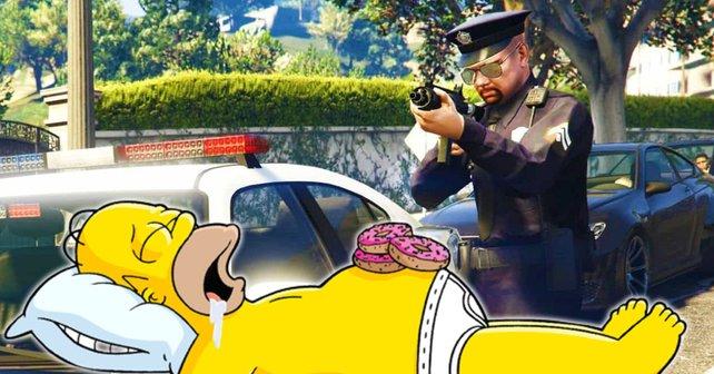 GTA Online: Wenn die Polizei nicht einmal mit einem AFK-Spieler zurechtkommt ...