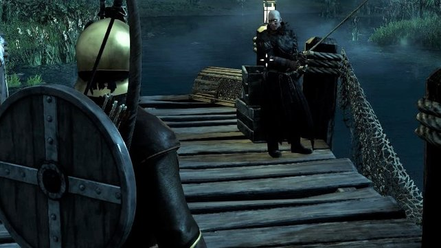 Der Einsiedler Yonas ist ein leidenschaftlicher Angler.