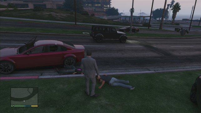 Sie hatten einen Unfall...
