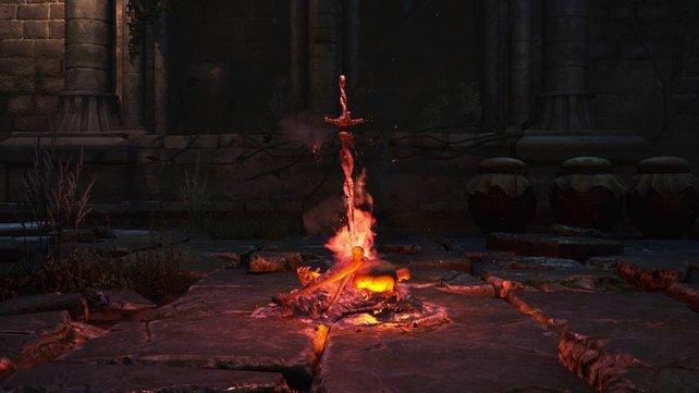 Ist das Feuer wirklich so heiß, wie es aussieht?