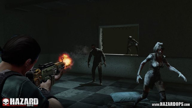 Zombies sind im Spiel meistens nicht alleine.