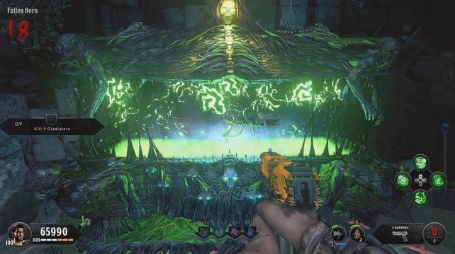 Die Mysteriöse Kiste spuckt nach dem Vergiften eine Wunderwaffe aus: Tod des Orion.
