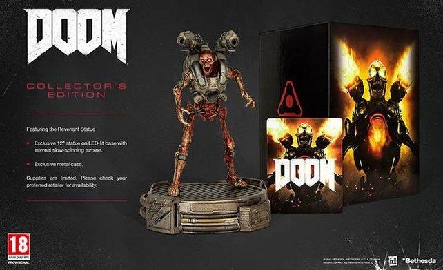 Die Collector's Edition von Doom