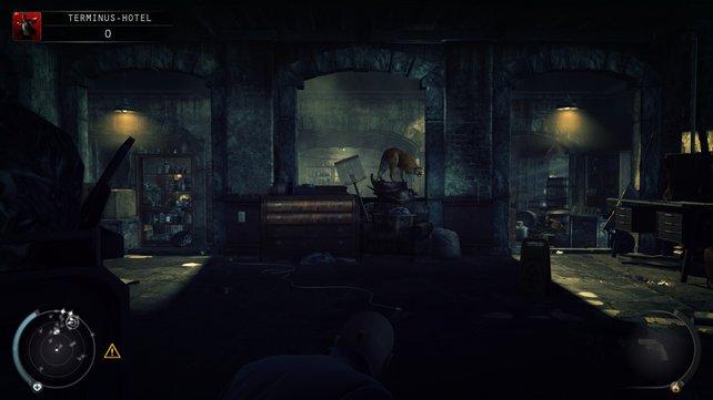 In diesem Kellerbereich kommt ihr raus.