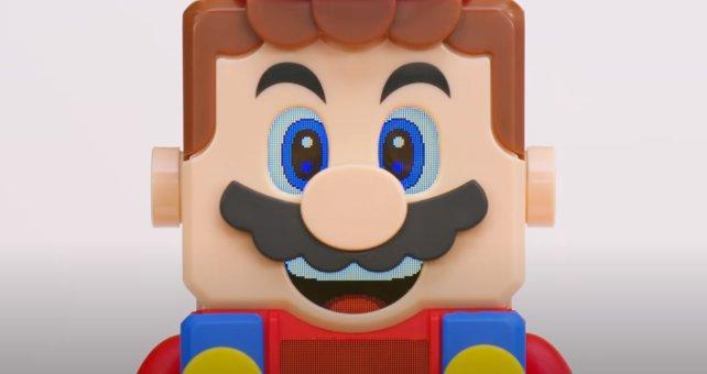It's a-me! LEGO Super Mario!
