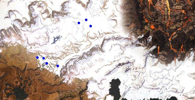 Sternenmetall tritt zufällig an diesen Orten auf und muss nicht zwangsläufig vorhanden sein, wenn ihr die lange Reise in Conan Exiles auf euch nehmt.