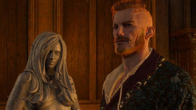 Was Narben angeht, kann Olgierd durchaus mit Geralt mithalten.