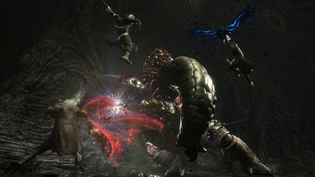 Dante, Nero und V: Zu dritt ein klasse Team!