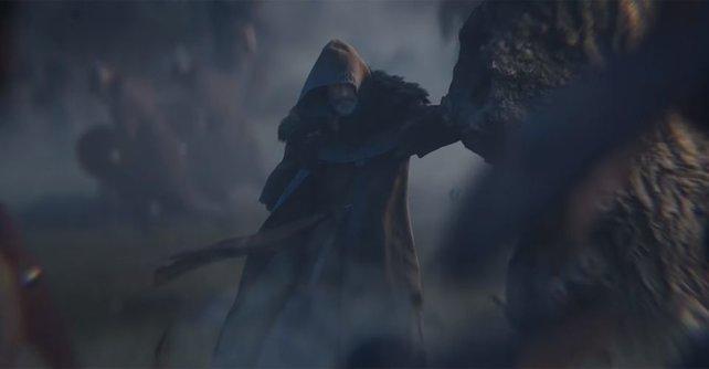 Fans rätseln, wer der alte Mann im Trailer zu Assassin's Creed: Valhalla sein könnte.