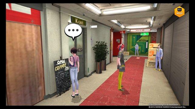 Ganz oben im 4.Floor ist das K-Cafe. Zuvor könnt ihr euch im Broadway umsehen.