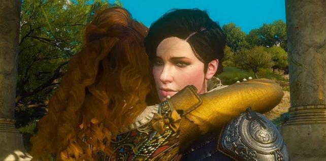 Das gute Ende in Blood and Wine: Anna und Syanna überleben und versöhnen sich.