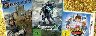 Deals: Schnäppchen des Tages:  Xenoblade Chronicles X, Yo-kai Watch und Stronghold