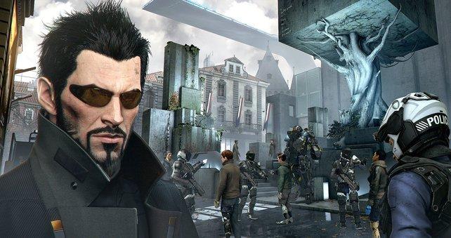 Adam Jensen ist wieder der Hauptcharakter in Deus Ex - Mankind Divided.