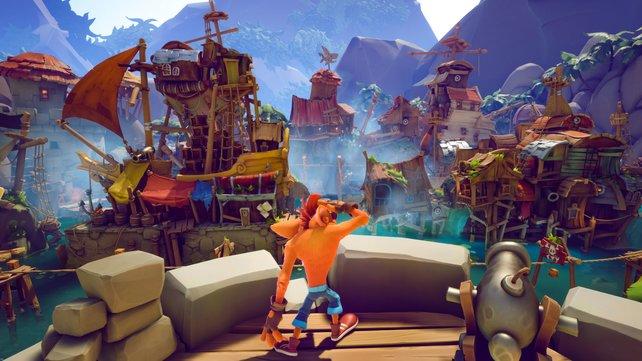 Einige Level in Crash Bandicoot 4: It's About Time werden nur die besten Spieler zu Gesicht bekommen.