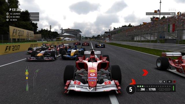 Historische Autos: In diesem Klassiker wurde Michael Schumacher schon ein Mal Weltmeister.