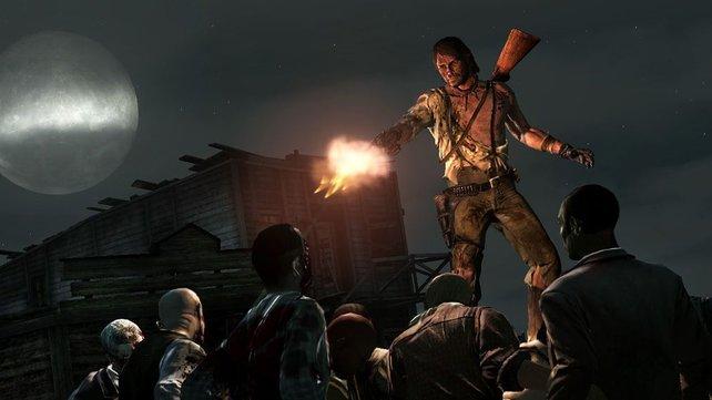 Untote Wildwest-Action: Die Erweiterung lässt Zombies auferstehen.