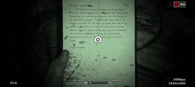 In Outlast 2 gibt es 55 solcher Dokumente.
