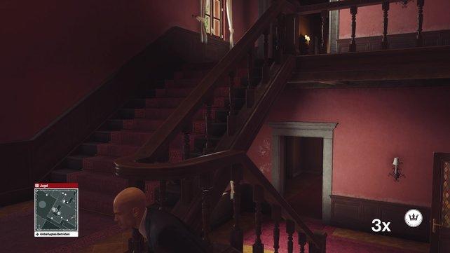 Diese Treppen solltet ihr erreichen