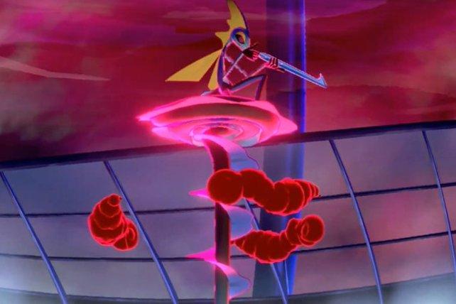 In seiner Gigadynamax-Form erinnert Intelleon an einen Scharfschützen.