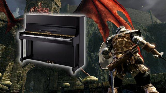 """""""Dark Souls""""-Spieler bekämpft einen der schwersten Bosse blind und mit einem Klavier. Bildquelle: Getty Images/ Churairat Music"""