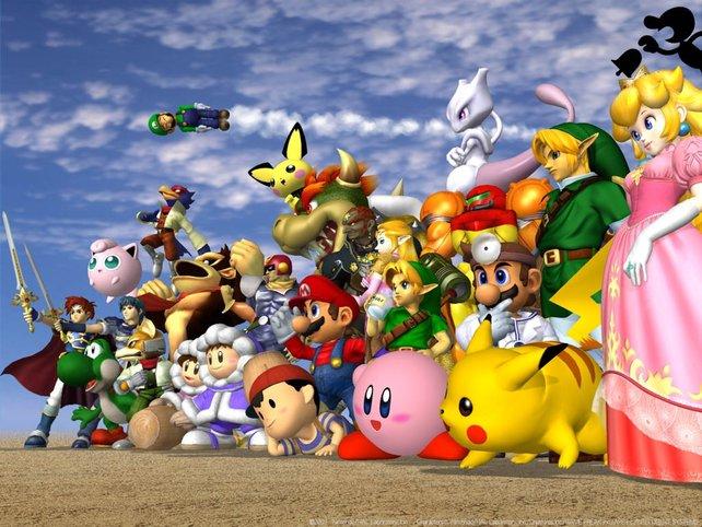 Super Smash Bros. Melee: Auch auf dem Gamecube gab es einen Ableger.