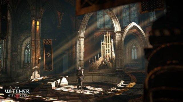 Die Haupthandlung von The Witcher 3 führt sogar bis in den Thronsaal von Emhyr var Emreis, dem skrupellosen Kaiser von Nilfgaard.