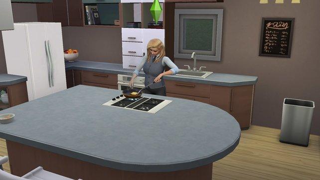 In eurer neuen Küche könnt ihr erstmals die Herdplatte vom Ofen trennen und beliebig auf den Theken und Inseln platzieren.