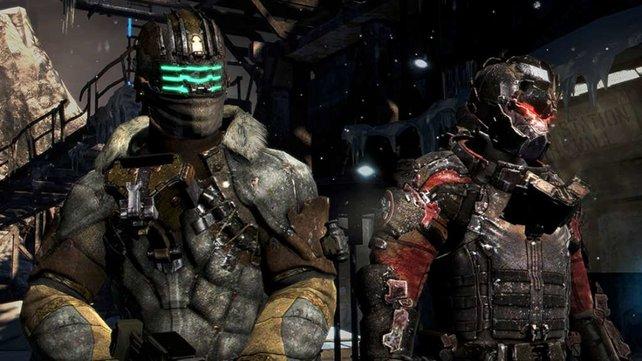 In Dead Space 3 könnt ihr euch zusammen mit einem Freund den Necromorphs entgegenstellen