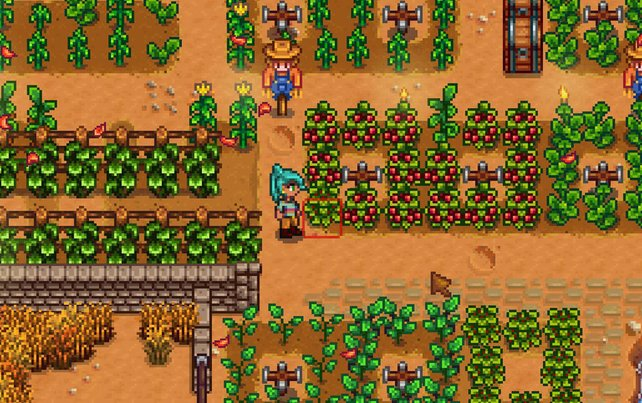 Mit Gatherer kann die Ernte doppelt so ertragreich sein.