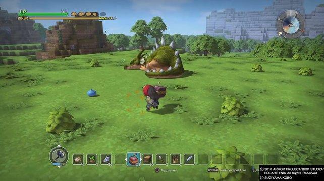 Wir zeigen euch, wie ihr in Dragon Quest Builders die Drachen finden und töten könnt.