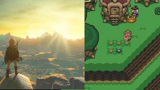 So würde Breath of the Wild als SNES-Spiel aussehen