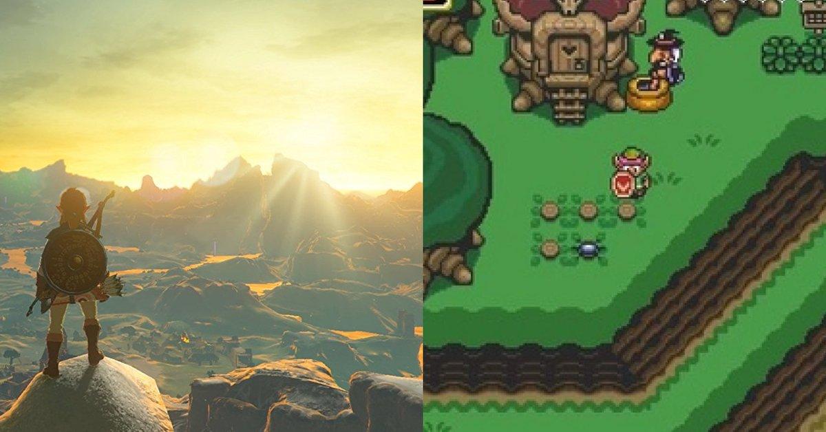 The Legend of Zelda | So würde Breath of the Wild als SNES-Spiel aussehen