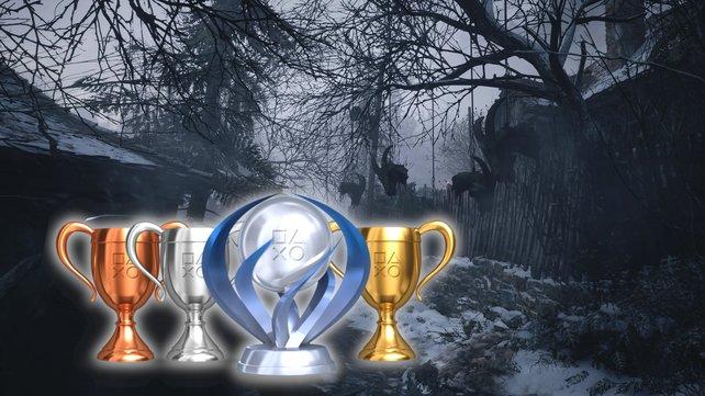 Für die 100% in Resident Evil 8 Village, müsst ihr ganze 49 Trophäen einsammeln.