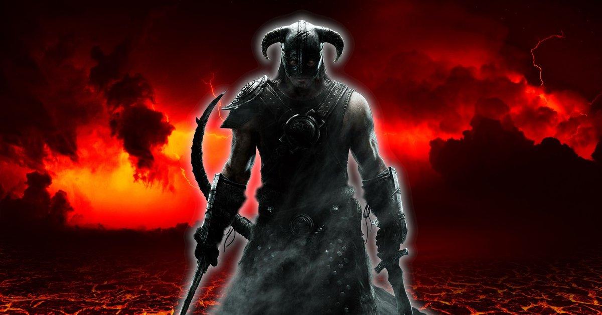 Skyrim: Probleme mit Banditen? - Spieler öffnet Tor zur Hölle
