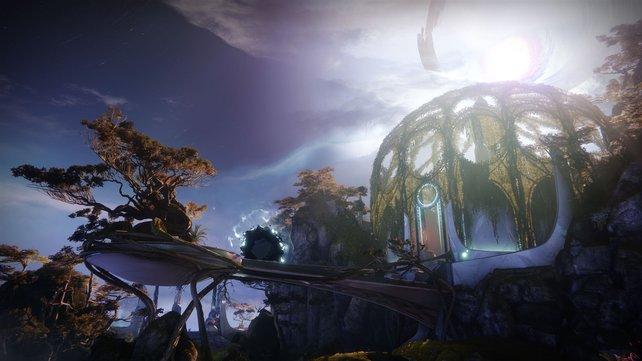 Verspielter und fast schon traumhaft: Die Träumende Stadt wirkt auf den ersten Blick für Destiny ungewohnt.