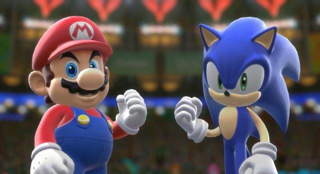 Mario und Sonic treffen diesmal in Rio aufeinander.