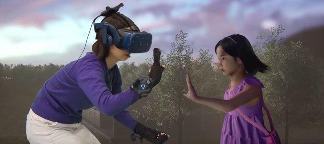 Eine koreanische Mutter trifft ihre verstorbene Tochter in virtueller Realität wieder