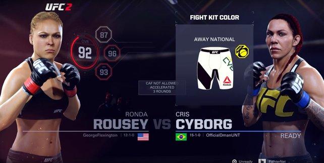 Ein Kampf, den wir im Vorgänger spielen konnten und laut dem Roster zu UFC 3 erneut spielen können. Jetzt bleibt nur noch der Wunsch, ihn auch in der Realität zu erleben.