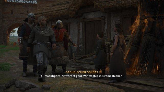 Die sächsischen Soldaten vor Ort schlagen sich mit vielen Straßenkindern herum, welche allerhand Unfug anstellen.
