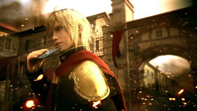 So soll die HD-Veröffentlichung von Final Fantasy Type-0 aussehen.