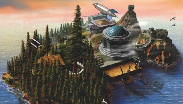 Ob die Fernsehserie auf der Insel aus dem ersten Myst spielen wird?