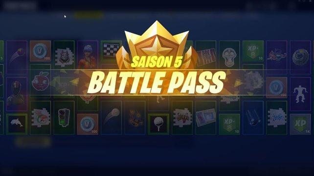 Im Battle Pass von Season 5 gibt es über 100 Belohnungen, wenn ihr im Level steigt.