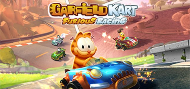 Garfield Kart: Furious Racing ist jetzt erhältlich.