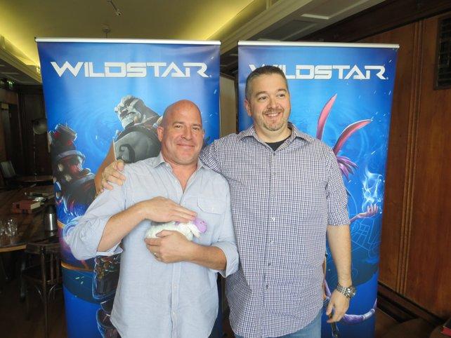 Chad Moore (links) und Mike Donatelli haben große Pläne für Wildstar.