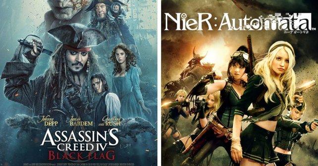 Piraten und Sci-Fi-Action sind sowohl in Filmen als auch in Spielen populär