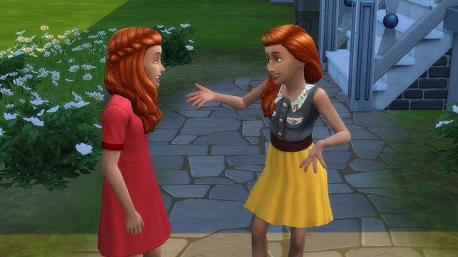 Egal, wie unterschiedlich die Charaktereigenschaften von Zwillingen sind, sie vertragen sich nach einem Streit immer wieder.